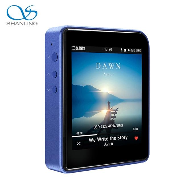 Новый Shanling M1 DAP HIFI MP3 Музыкальный Плеер С Функциями Bluetooth Мини Движение MP3 Музыкальный Плеер Бесплатная Доставка