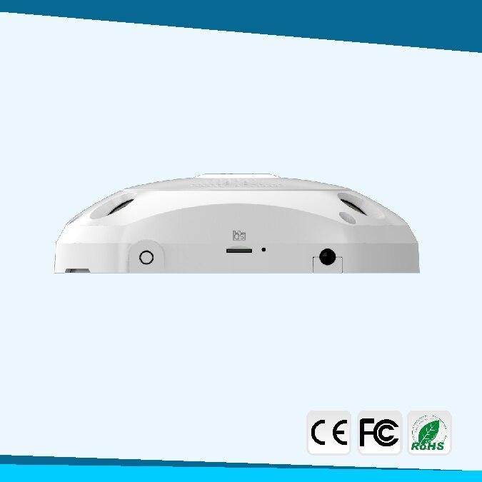 4MP HD рыбий глаз Беспроводная ip камера wifi 360 градусов Мини WiFi камера сеть Домашняя безопасность панорамный фотоаппарат ИК камера наблюдения - 4