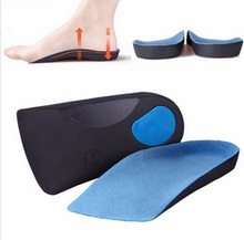 Half eva orthopedic insole for flat foot and arch support relief feet pain new sole for unisex shoe orthotic heel protector(China)