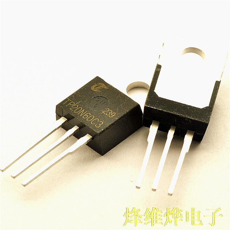 Free Shipping N P-channel MOSFETs TP20N60C3 20A/650V/0.19 European /208W TO-220 (5)
