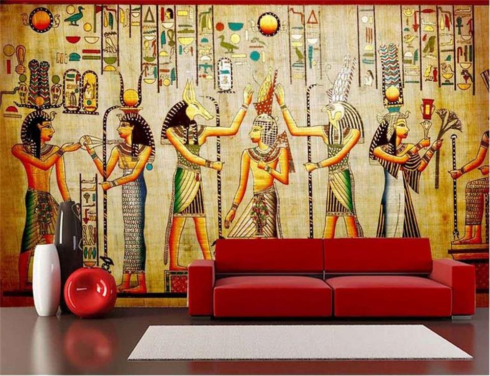 custom 3d photo wallpaper mural living room ancient Egyptian celebration 3d painting sofa TV background wall non-woven sticker 3d wallpaper custom photo mural living room horse sand sculpture 3d painting tv sofa background non woven wallpaper for walls 3d
