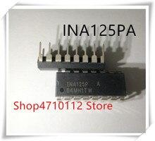 NEW 5PCS/LOT INA125P INA125PA INA125 DIP-16 IC