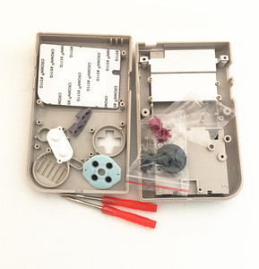 Image 3 - סט מלא קלאסי דיור פגז מקרה כיסוי Repairt חלקים עבור Gameboy GB קונסולת משחקים עבור GBO DMG GBP עם כפתורים בורג נהגים
