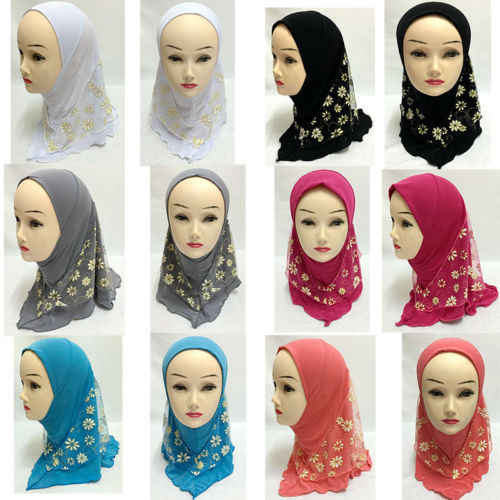 New Arrival 15 Color Muslim Girls Head Coverings Tube Scarf Hijab Hat Islamic Wedding Hijab Caps Turkish Fashion