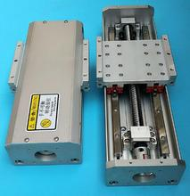 taiwan tbi Ball screw, guide rail, slide table, straight slide, linear module, precision rail, CNC slide module work 300mm