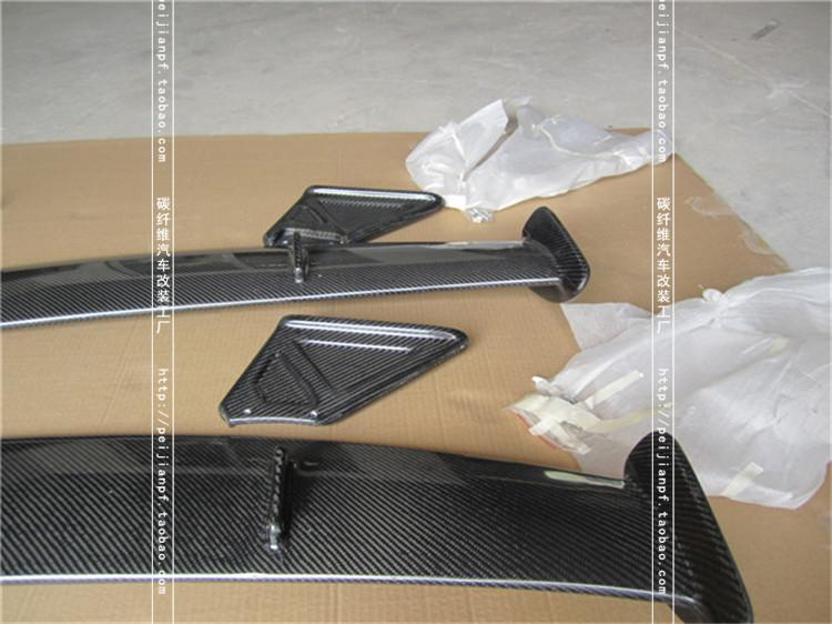 Fit for mazda <font><b>RX8</b></font> RX-8 carbon fiber rear spoiler rear <font><b>wing</b></font> image