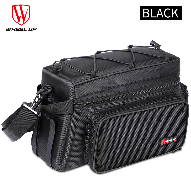 Wheelup  MTB Bicycle Bag Large Capacity 26L Foldable Rainproof Bike Saddle Double Side Rear Trunk Bag Pannier Cycling Tail Bag roswheel mtb bike bag 10l full waterproof bicycle saddle bag mountain bike rear seat bag cycling tail bag bicycle accessories