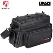 Wheelup  MTB Bicycle Bag Large Capacity 26L Foldable Rainproof Bike Saddle Double Side Rear Trunk Bag Pannier Cycling Tail Bag