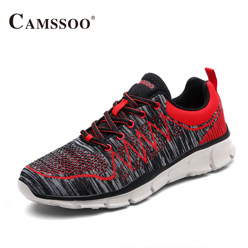 Camssoo EVA Running Shoes Men Breathable New Sneakers Platform Men Sports Shoes Good Quality AA40376 camssoo new running shoes men soft footwear classic men sneakers sports shoes size eu 39 44 aa40375