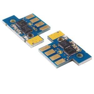 Image 5 - ใหม่ 6K US รุ่นสี K/C/M/Y 71B1HK0 71B1HC0 71B1HM0 71B1HY0 Toner ชิปสำหรับ lexmark CS417 CS517 CX417 CX517 เลเซอร์