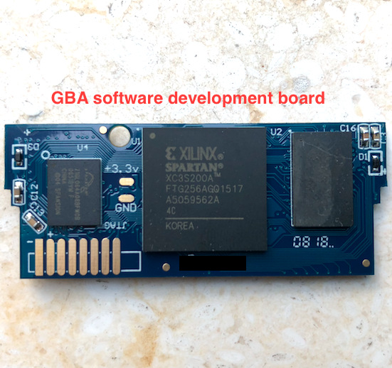 Real Time Clock EZ FLASH Omega GBA Software Develop Board