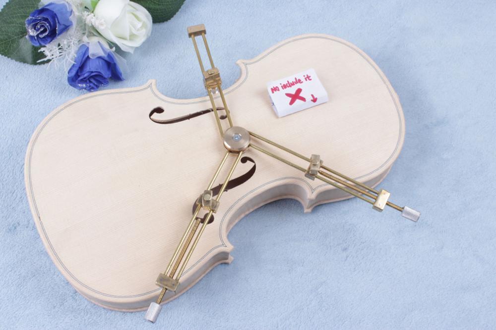 Yinente 4/4 3/4 Violin Tool Brass Violin Gap Clamp Repair Tools Crack Clamp