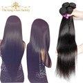 King hair produtos peerless mongol feixes de cabelo em linha reta não transformados humano virgem mongol tecer cabelo liso macio