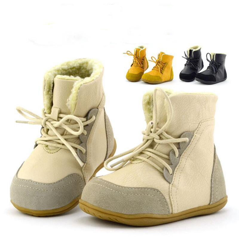 Childrens-leather-boots-girls-snow-boots-Tree-Wrasse-2017-new-fashion-winter-childrens-shoes-non-slip-warm-cotton-boots-3