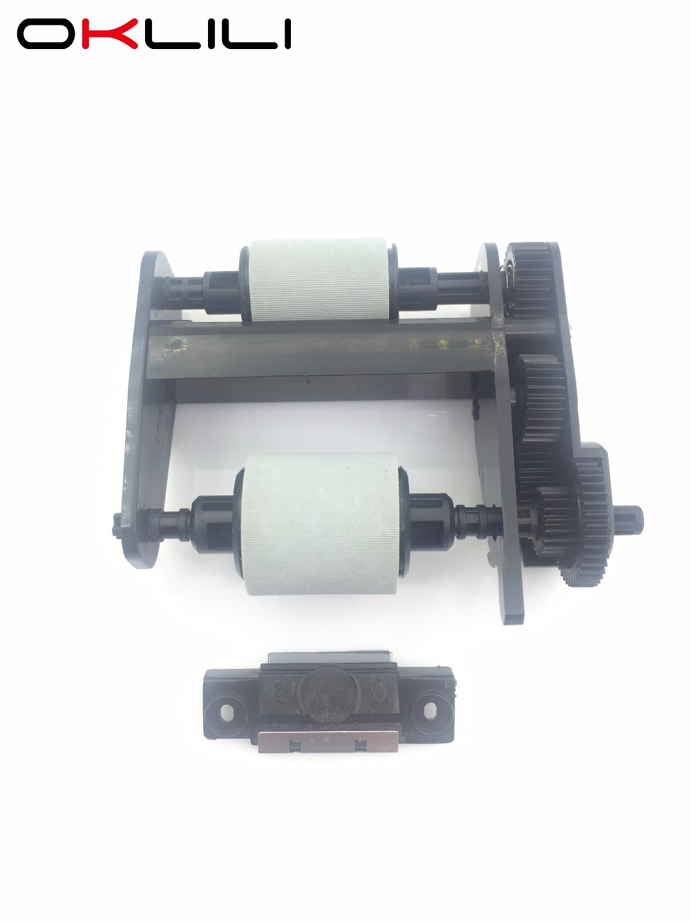 1SET Q3948-67904 5851-3580 ADF Pickup Roller Separation Pad for HP 3030 3300 3310 3320 3330 3380 OfficeJet 6110 6150 L7780 5590 high quality pickup roller and separation pad compatible for hp5000 5100
