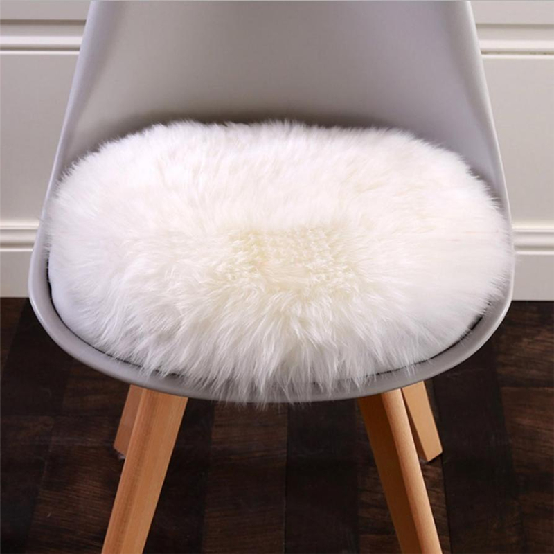 2018 New Soft Artificial Sheepskin Rug Chair Cover Artificial Wool Warm And Cozy Hairy Carpet Seat Pad 01
