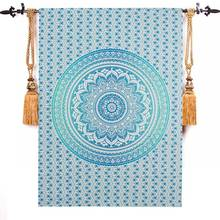 Top Selling Bohemia Indian Mandala Tapestry Wall Hanging Tapestries Boho Bedspread Beach Towel Yoga Mat Blanket Table Cloth
