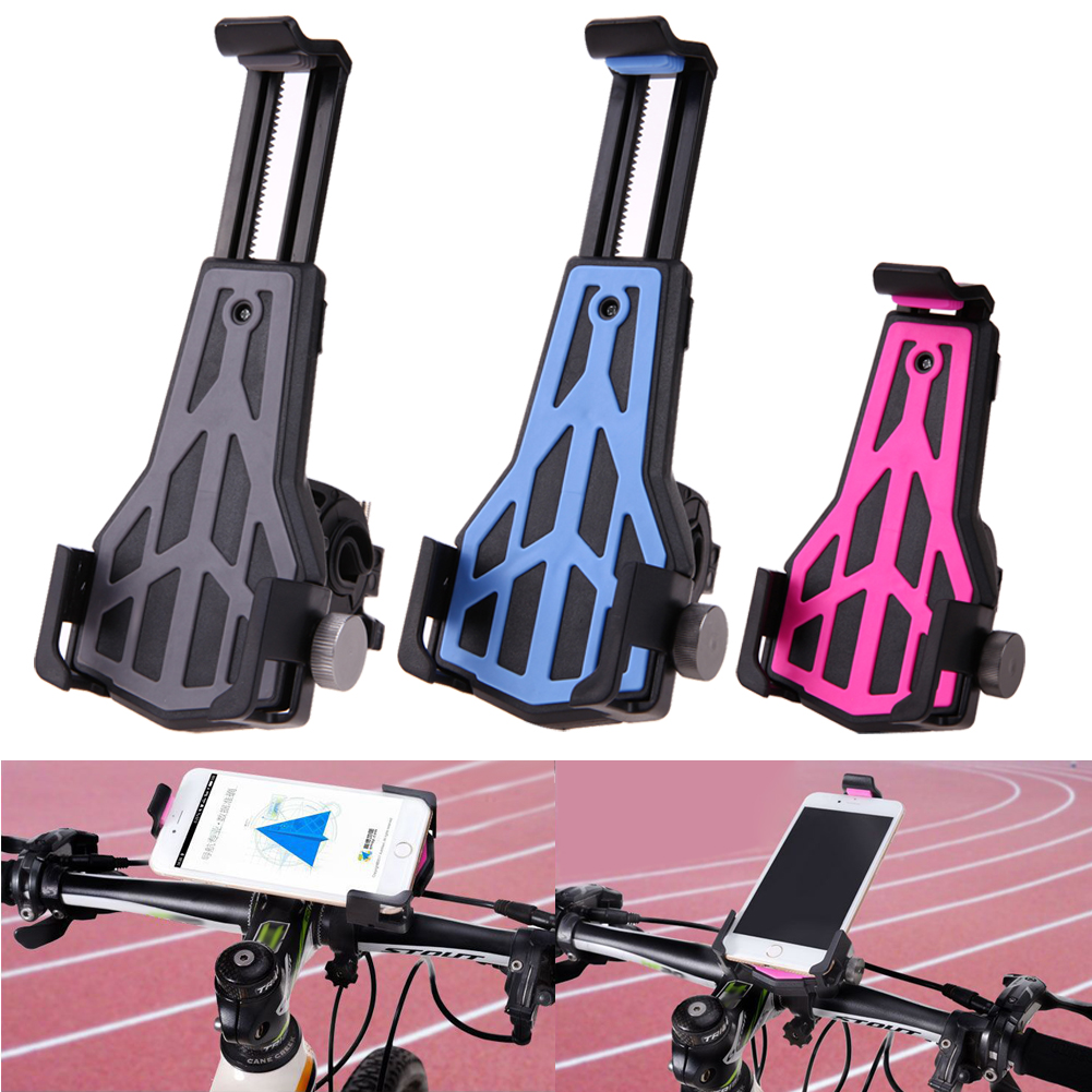 Universal Anti-Slip Bicycle Bike Phone Holder Handlebar Clip Stand Mount Bracket For Smart Mobile Cell Bicycle Accessories universal cell phone holder mount bracket adapter clip for camera tripod telescope adapter model c
