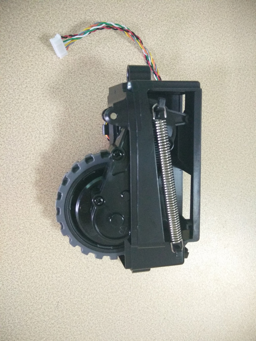 1PCS Original Left wheel for ilife v7 ilife v7s ilife v7s pro robot Vacuum Cleaner Parts (Including wheel motors) chuwi ilife original ilife robot vacuum cleaner parts v7s big mop 1 pc