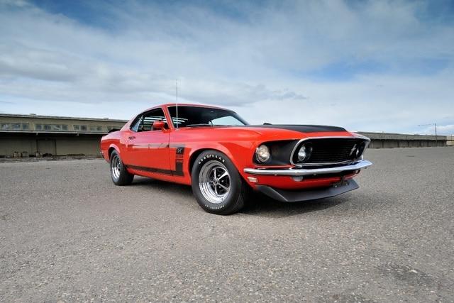 1969 Mustang Boss 302 fastback músculo coche clásico KD003 Sala ...