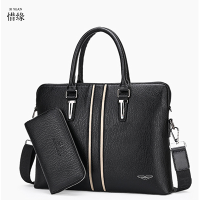 ФОТО XIYUAN BRAND Men Briefcase 2017 New Soft Leather Handbags MAN Shoulder Messenger Bag Crossbody Bag Travel Bag Leather Laptop Bag