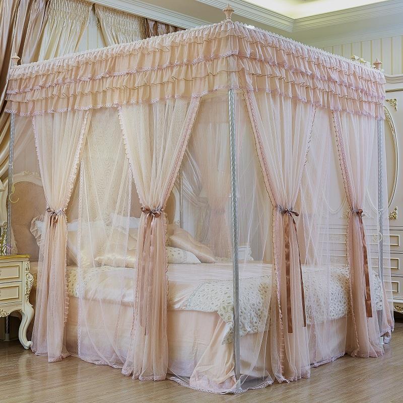Decor Siatka Moskitiera Dossel Bed Curtain Mosquiteiros Para Cama Adulto Mosquitera Canopy Moustiquaire Ciel De Lit Mosquito Net