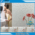 """36""""x16ft Window Film Stained Glass Vinyl Paper Privacy Covering StatIc Frosted Decorative Transparent Window Stickers BZ106-001"""