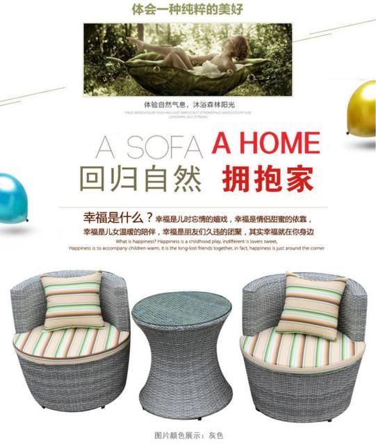 Tienda Online Ocio al aire libre muebles de ratán silla de la silla ...