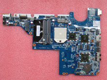 Free shipping ! 100% tested 611555-001 for HP compaq presario CQ42 CQ62 laptop motherboard with for AMD chipset