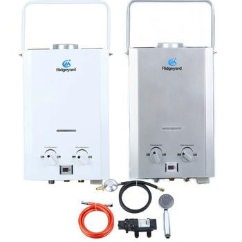 MINI nuevo portátil 6L GLP Gas propano sin tanque calentador de agua caliente instantáneo caldera CE