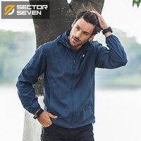 2017 New Waterproof Men Brand Clothing Sportswear Men Fashion Thin Windbreaker Jacket Zipper Coats Outwear Hooded