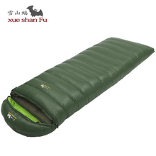 Camping Sleeping Bag Adult Winter Fill 2500g 3000g 3500g Duck Down Thick keep Warm Sleeping Bag Outdoor Travel Sleep Bag все цены