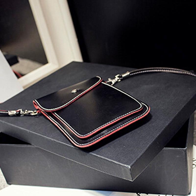 New Fashion Women's Mini Multi-color side edge of color phone package lovely purse retro shoulder diagonal handbags messenger 5