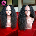 7A Afro Kinky Curly U Part Wig Brazilian Virgin Human Hair Curly U Part Wigs For Sale Glueless Upart Wig For Black Women Cheap