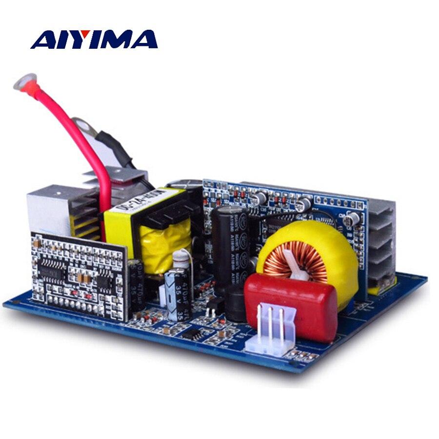 AIYIMA 1Pc Inverter 12v 220v DC 12V To AC 220V 300W Pure Sine Wave Inverter Board