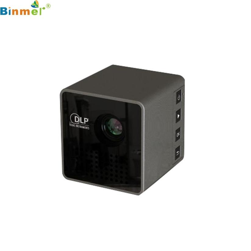 NEW HOT DLP Mini Projector Projector Portable Projector Video Multimedia Home Business TOP QUALITY DEC24