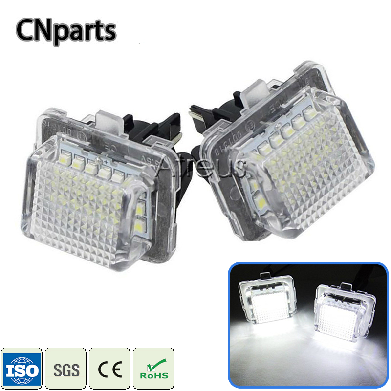 Fits Mercedes M-Class W164 ML 280 CDI 4matic White 54-SMD LED Side Light Bulbs