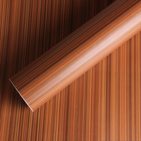 Thicken PVC Self Adhesive Wood Grain Vinyl Wrap Sticker Decal Film for Car Interior and Furniture Decoration No.0250