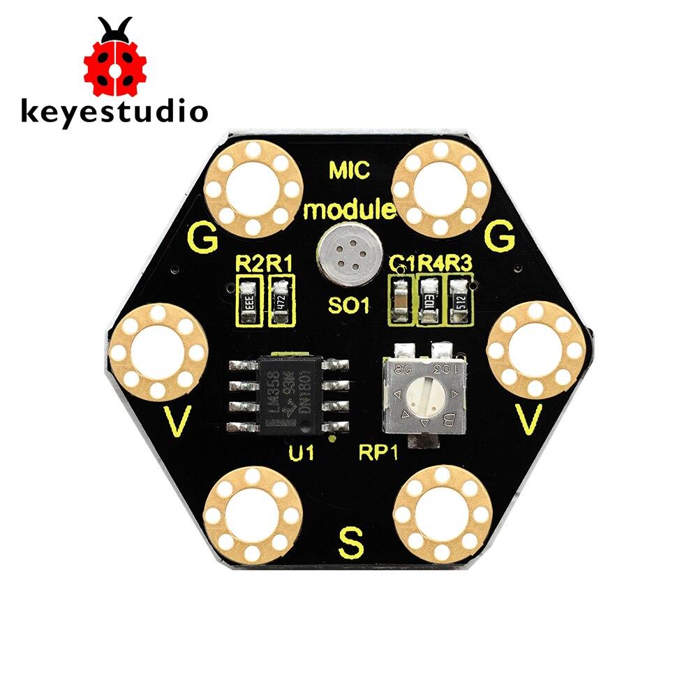 Keyestudio Microphone Sound Module For BBC micro:bitKeyestudio Microphone Sound Module For BBC micro:bit