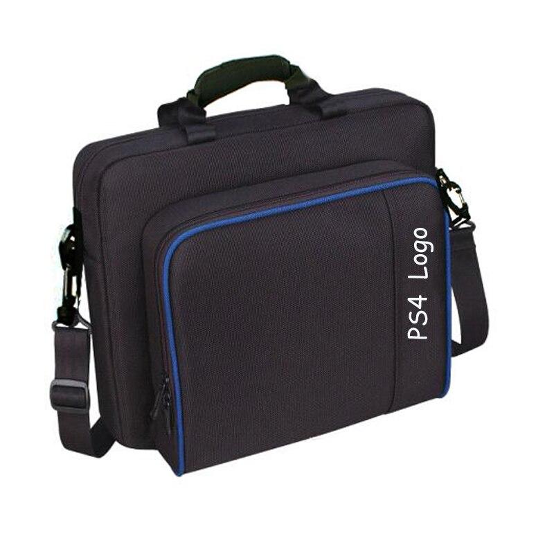 PS4 / PS4 Pro Slim Game Sytem Bag Canvas Case Handbag Original size for PlayStation 4 PS4 Pro Console Protect Shoulder Carry Bag