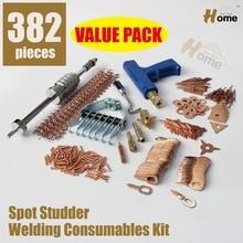 Пятно Стад Сварщик Tool Kit + Волнистые Провода Для Смарт-Ремонт SS-382L