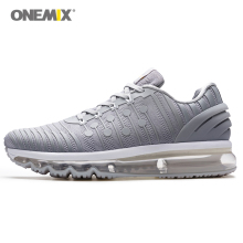 цены ONEMIX Men Running Shoes 2019 New Air Cushion sports Shoes Women Breathable Runner Mens Athletic Shoes Sneakers for Men