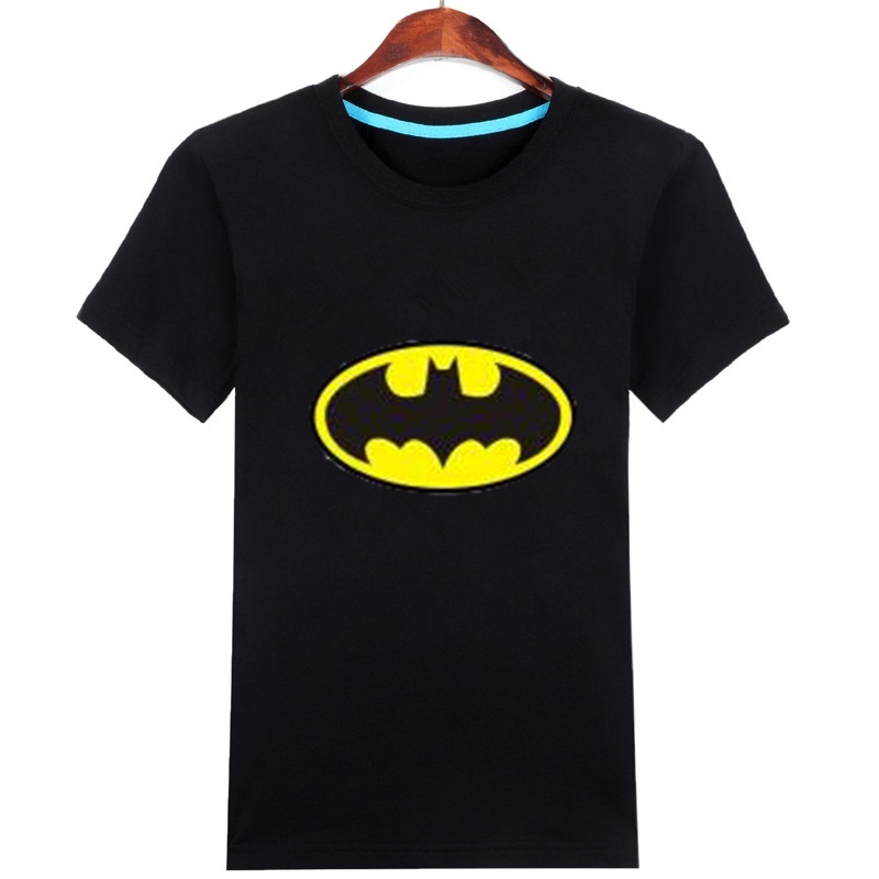 Kids batman clothes superhero t shirts for boys cotton Boys superhero t shirts