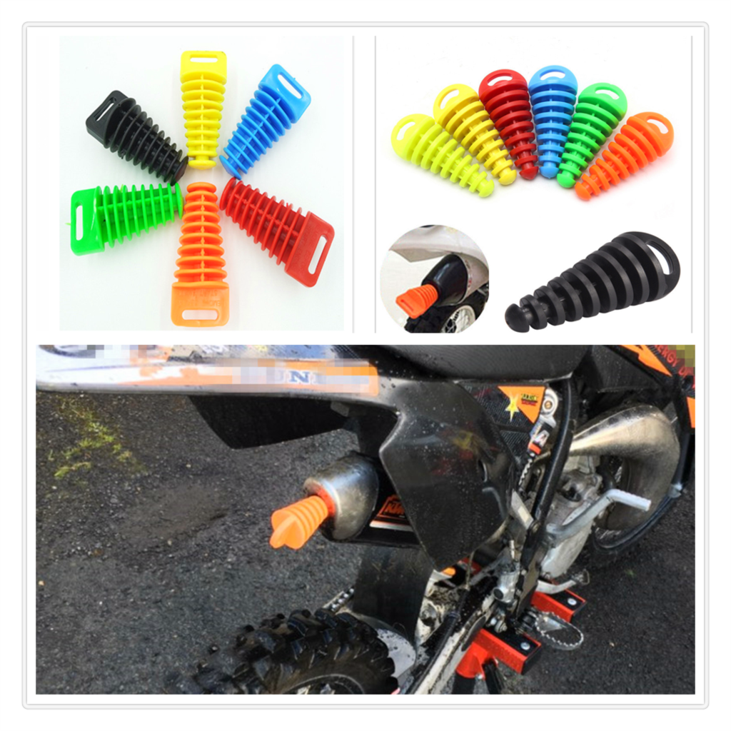 Motorcycle pitbike <font><b>Exhaust</b></font> Pipe Plug Silencer Muffler Wash end for Kawasaki ZZR1200 ER-5 <font><b>SUZUKI</b></font> <font><b>GSR600</b></font> GSR750 GSX-S750 image