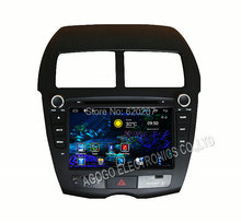 Android 4.4  CAR DVD player FOR Mitsubishi ASX  Peugeot 4008 Citroen C4 Aircross,GPS, DVD,  iPod, Bluetooth, RDS, 3g, wifi,