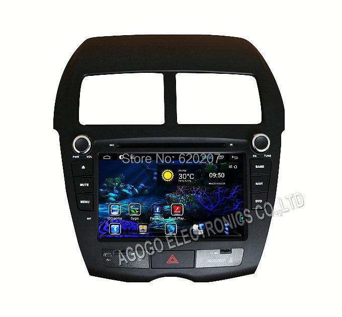 Android 4.4 CAR DVD player FOR Mitsubishi ASX Peugeot 4008 Citroen <font><b>C4</b></font> Aircross,GPS, DVD, iPod, <font><b>Bluetooth</b></font>, RDS, 3g, wifi,