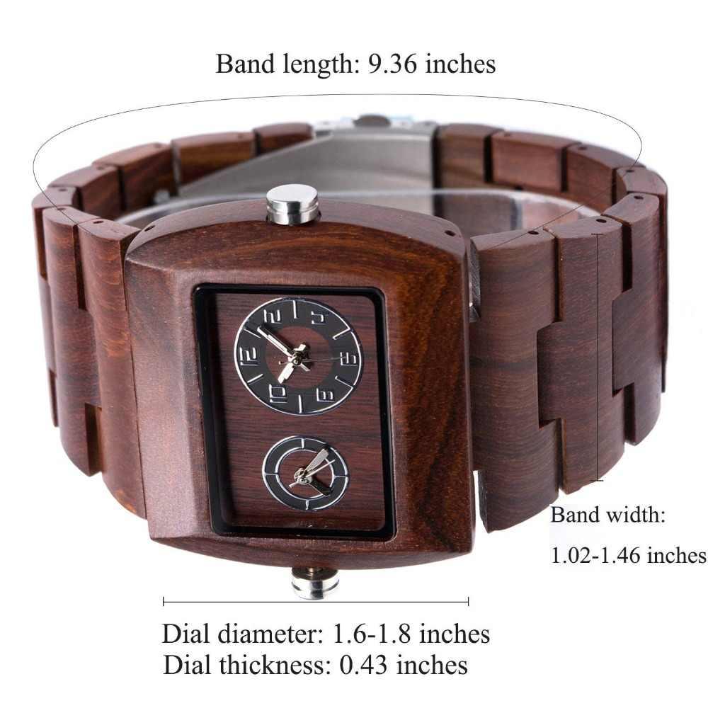 Reloj de cuarzo de madera para hombre, reloj para hombre, reloj de lujo para hombre, reloj de pulsera de marca superior, reloj de pulsera para hombre, dropship 021C