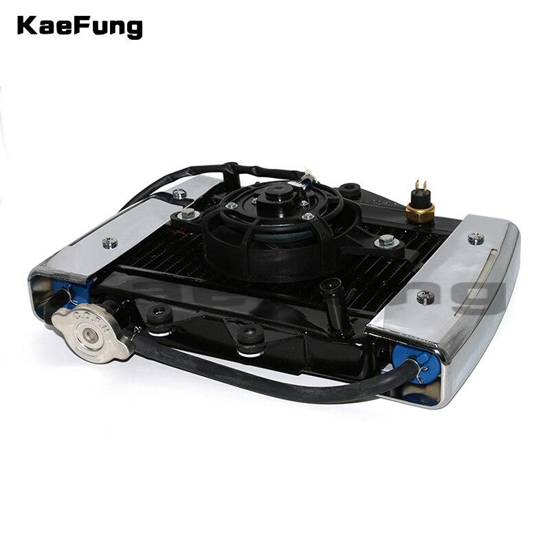 motorcyel parts 200cc 250CC engine Water cooling cooler Radiator cooler Radiator 12v fan for motorcycle moto Quad 4x4 ATV UTV
