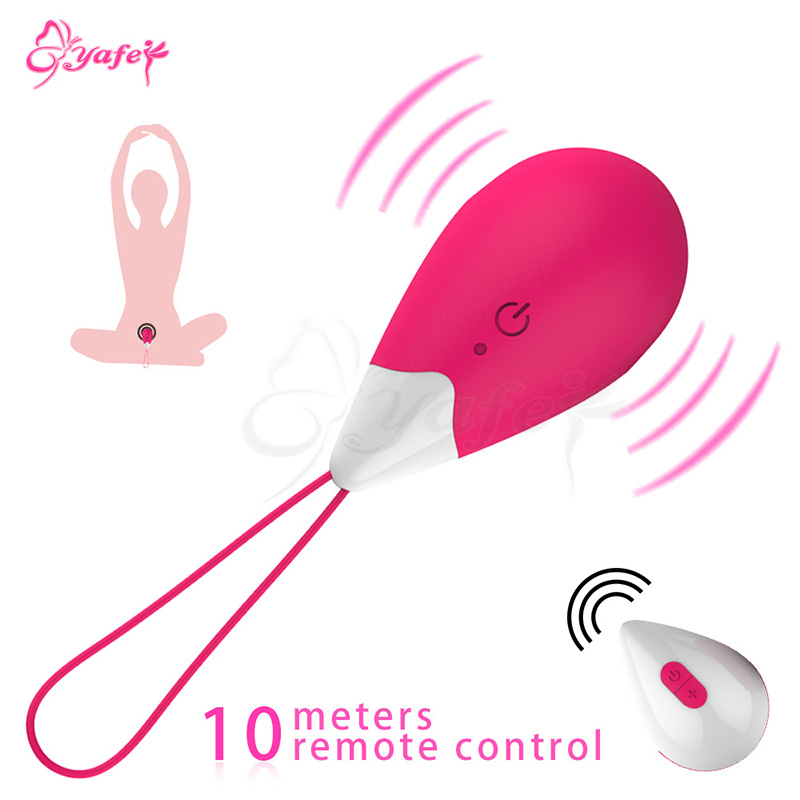 10 Speed Wireless Remote Control Vibrating egg Vibrator Kegel Balls Vagina Tight Exercise Ben wa ball Adult Sex Toys for Women himabm 1 pcs natural jade egg for kegel exercise pelvic floor muscles vaginal exercise yoni egg ben wa ball