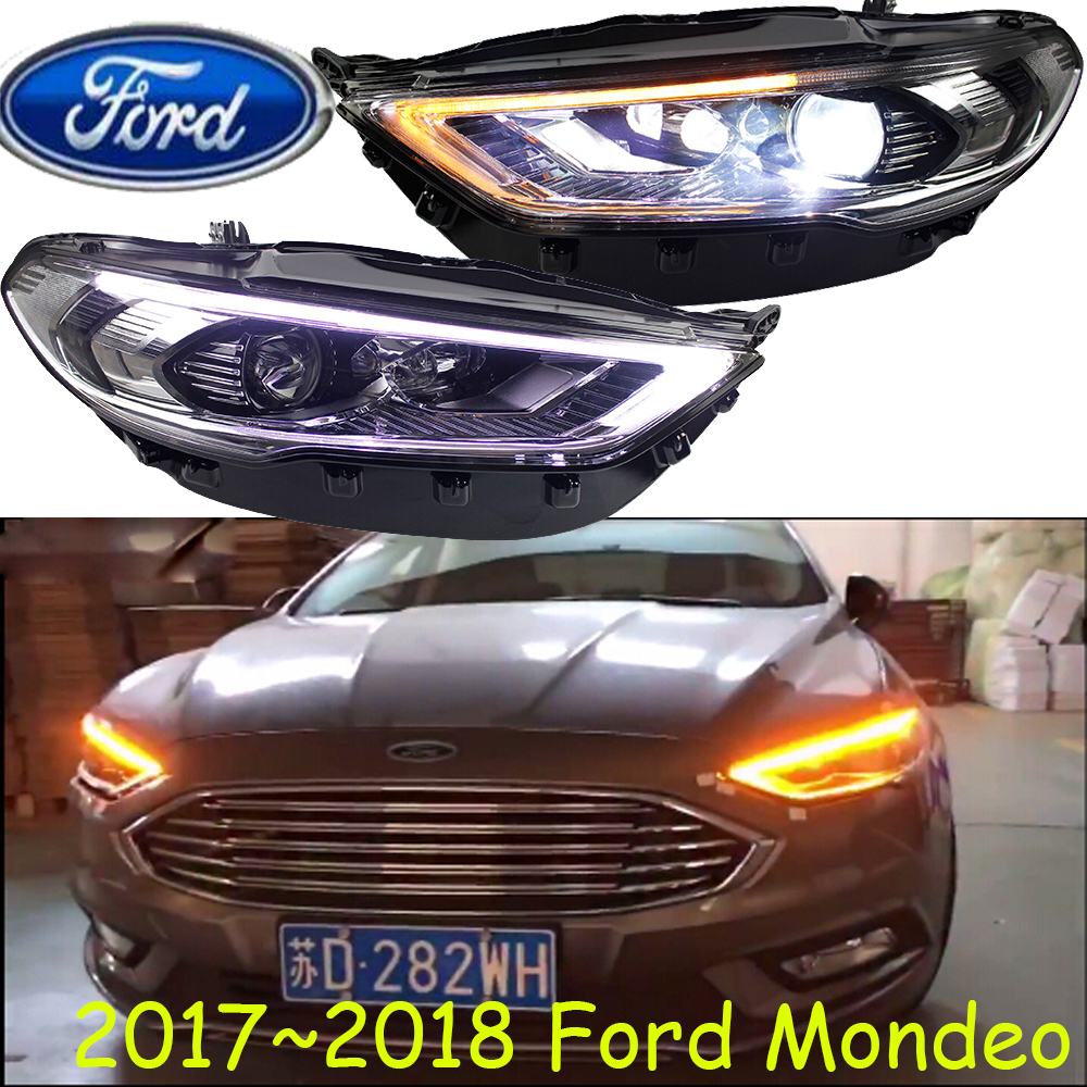 Fusion, спрятанный, 2017 ~ 21018, автомобилей Стайлинг для Monde фар, транзит, Explorer, топаз, край, Телец, Tempo, спектрон, сокол, Monde фара